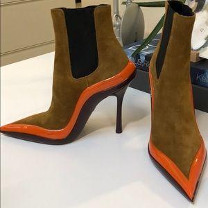 205w39nyc boot heels